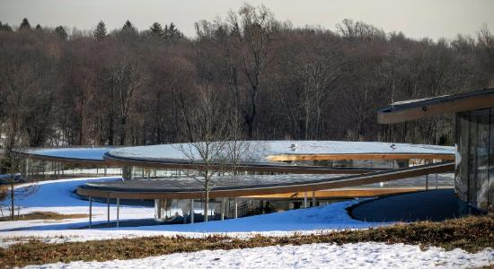 New Canaan, CT: Grace Farms building complex by Japanese studio SANAA