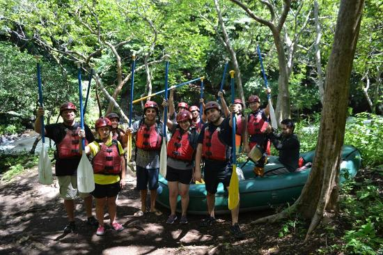 Playa Flamingo, Costa Rica: rafting