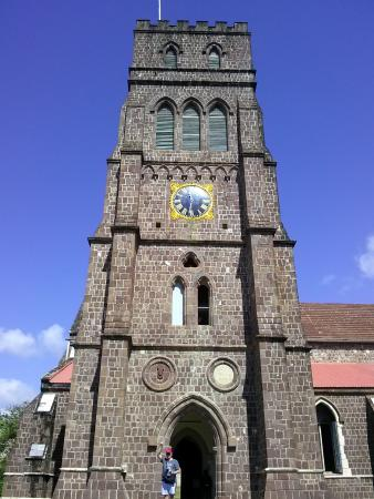Nevis: The tower