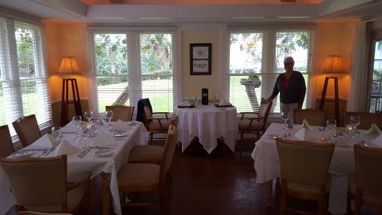 Pineland, FL: The formal dining room.
