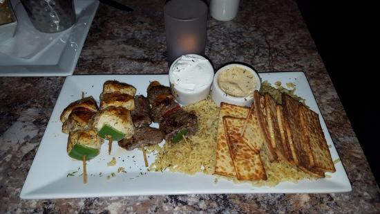 Katy, TX: Stix Entree with beef and chicken