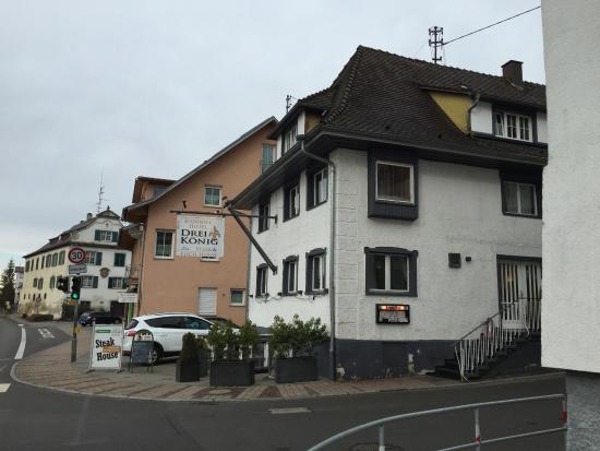 Hagnau, Germany: Front from the road