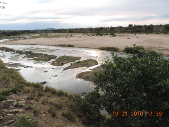Komatipoort, South Africa: One of the views from river front units