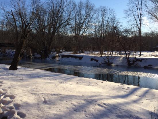 Chadds Ford, PA: Brandywine River behind the museum