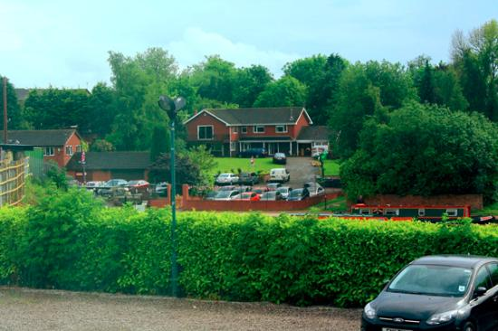 Middlewich, UK: view from my room..facing to Croco river