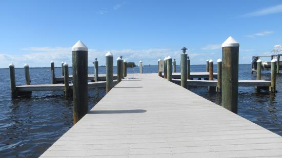 Pineland, FL: The Dock Area (Tarpon Lodge)