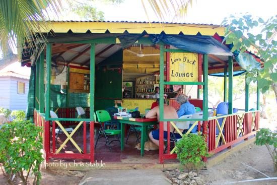 Little Bay, Jamaica: Lean Back Lounge