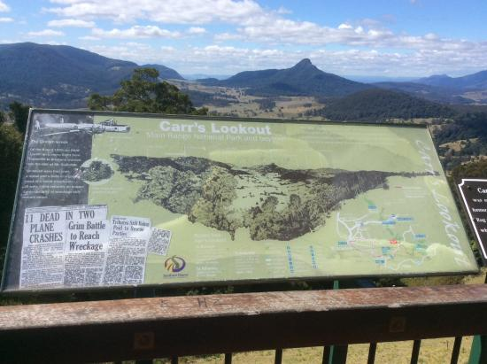 Boonah, Australia: Carr's Lookout