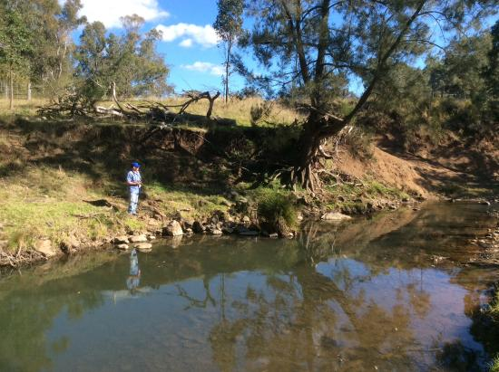 Boonah, Australia: One of the 7 river crossings