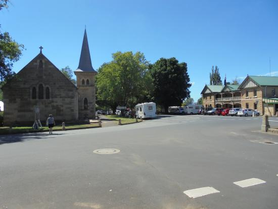 Ross, Australia: Part of town view