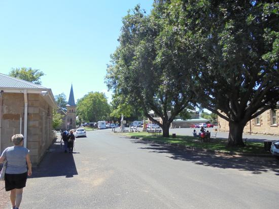 Ross, Australia: clean, neat old town