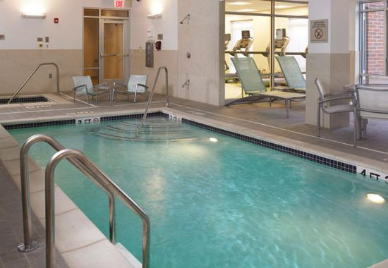 Indoor Pool Picture Of Springhill Suites Detroit Metro Airport Romulus Romulus Tripadvisor