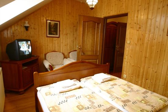 Kromeriz, Czech Republic: Standard double room