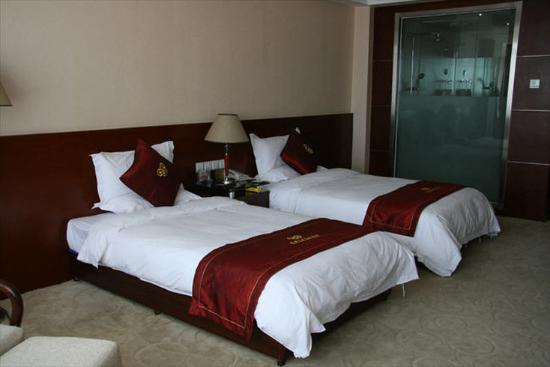 Yulin, China: Business Twin Room A