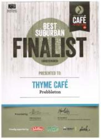 Canterbury Region, New Zealand: Finalist in the NZ cafe of the Year 2016
