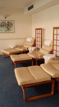Noosa, Australia: Post Massage Relaxation room