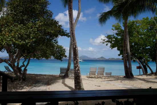 Caneel Bay, St. John: Scott Beach... view from our room.