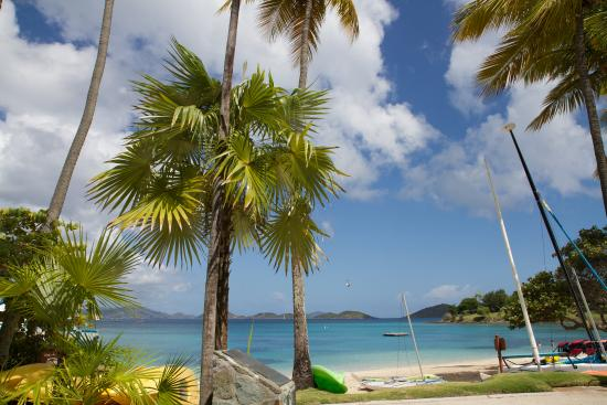 Caneel Bay, St. John: View from the main hotel lobby.
