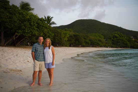 Caneel Bay, St. John: Scott Beach... just a few steps from our room
