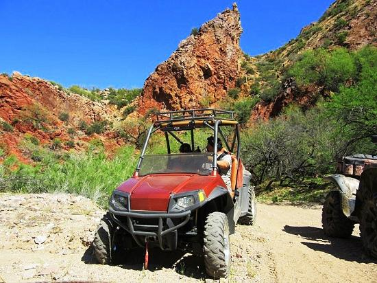 Florence, AZ: Chuckwalla Wash on the ride I call Kelvin Canyons near Kelvin and Kearney area. Great ride for a