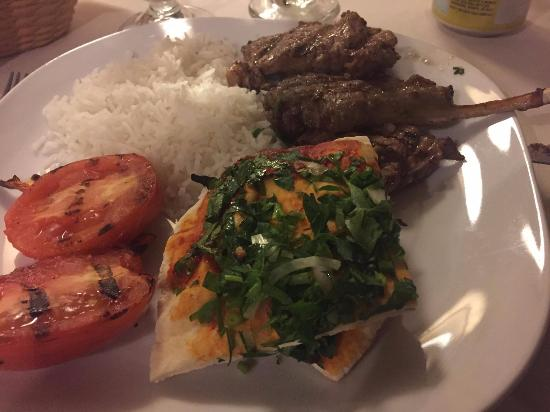 Lamb chops or lollypops picture of arz lebanese for Arz lebanese cuisine