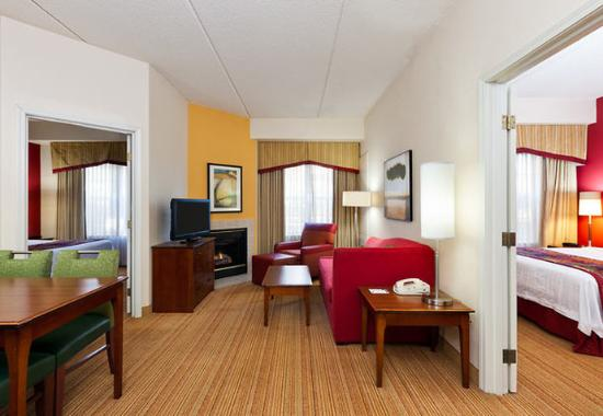 two bedroom suite picture of residence inn chicago schaumburg