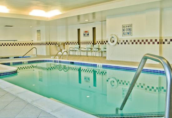 Indoor Pool Whirlpool Picture Of Springhill Suites Charlotte Airport Charlotte Tripadvisor