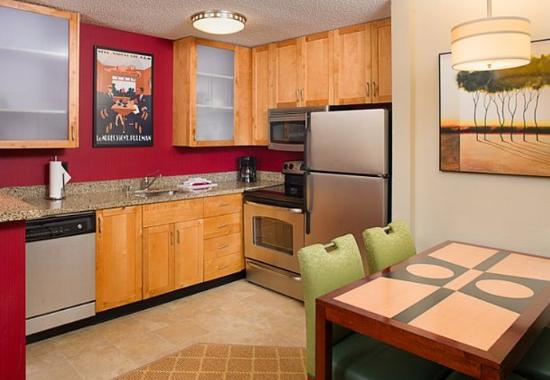 two bedroom suite fully equipped kitchen