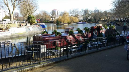 Waterside Cafe London's most relaxing cafes