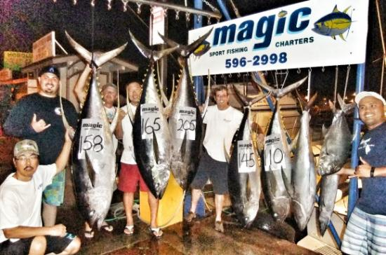 Popular attractions in honolulu tripadvisor for Magic sport fishing