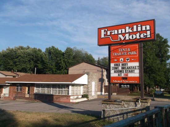 Franklin Motel, Tent & Trailer Park