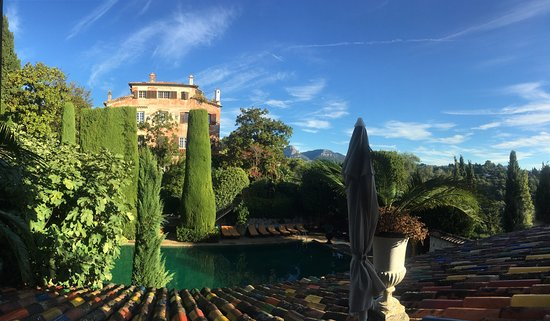La colombe d 2019or (hotel  restaurant)