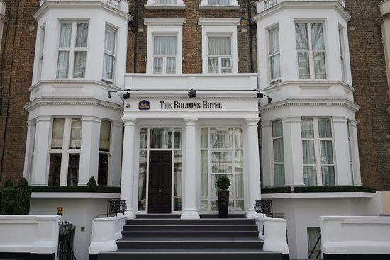 Best Western Boltons Hotel London Kensington