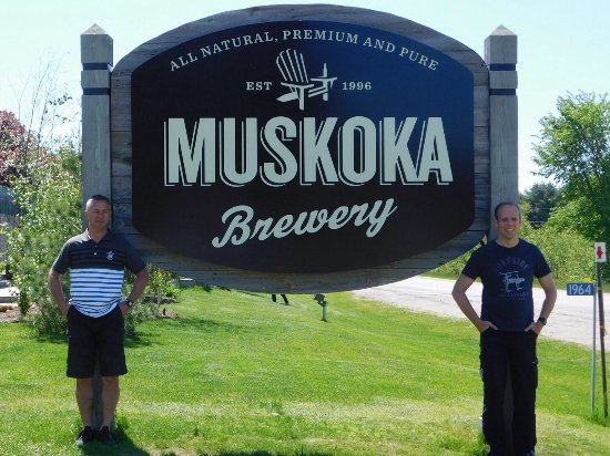 Muskoka brewery wedding