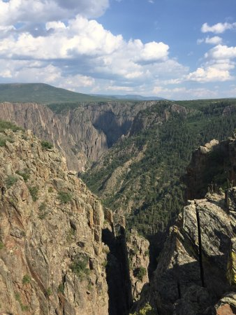 south rim road (black canyon of the gunnison national park