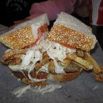 The Pittsburger at Primanti Brothers