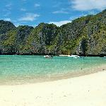 An empty Maya Bay