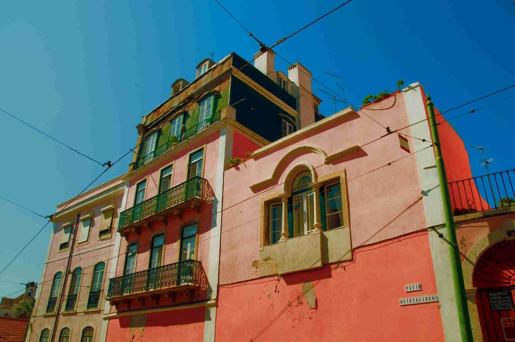 ‪Alfama Patio Hostel‬