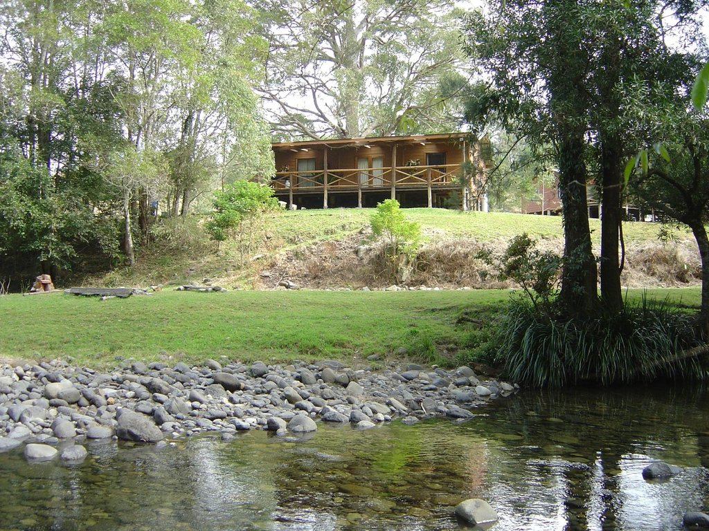 The Allyn Riverside Cabins
