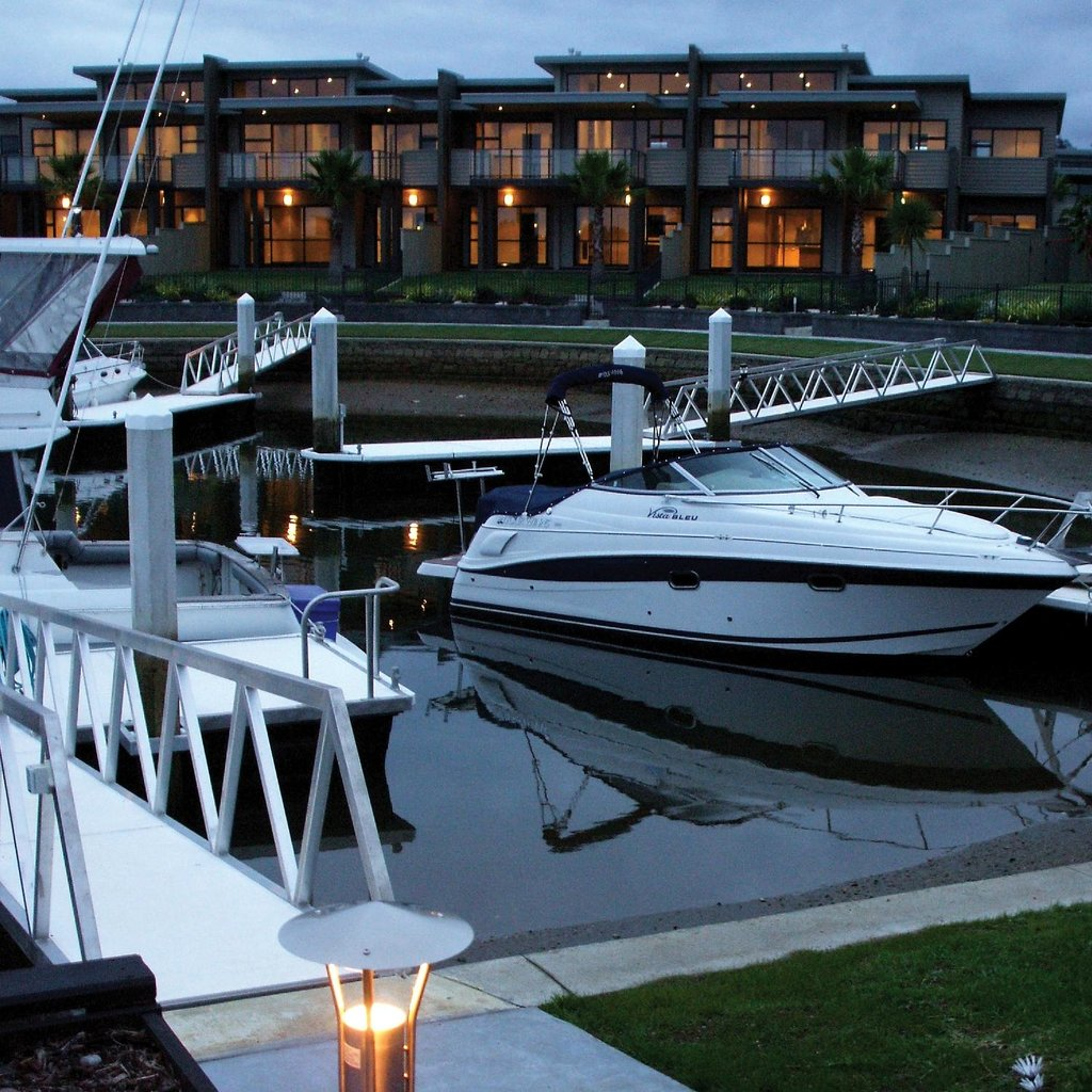 Sovereign Pier on the waterways