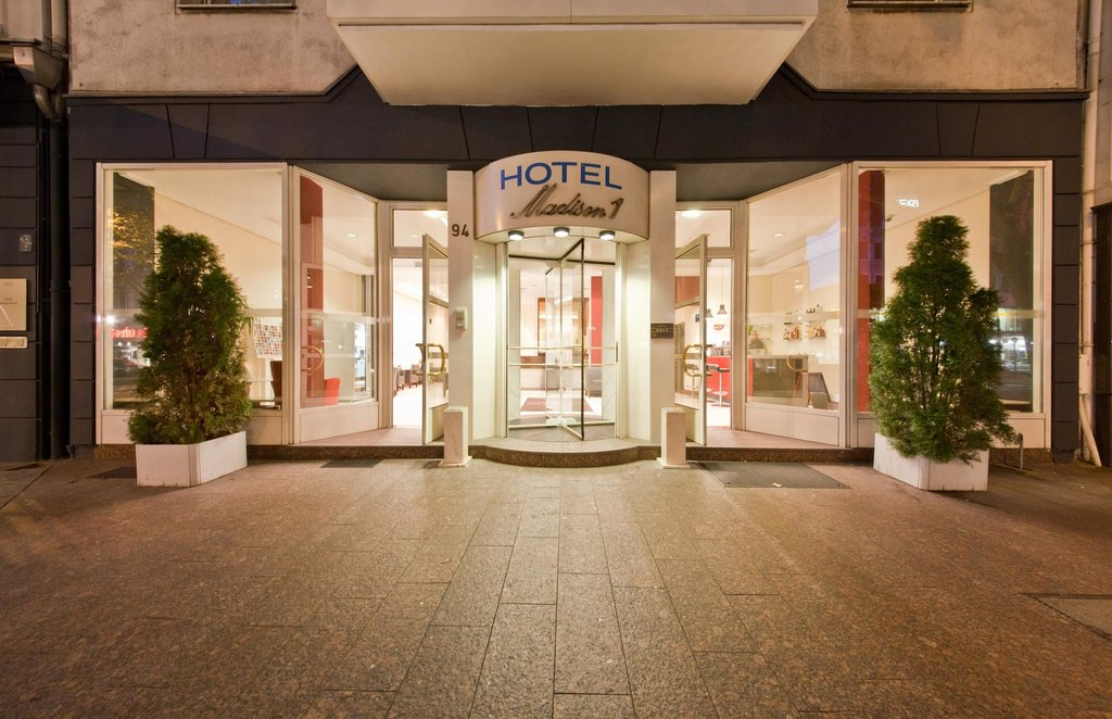 Novum Business Hotel Madison Dusseldorf Hauptbahnhof