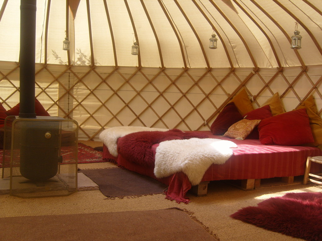 Woodland Tipis and Yurts