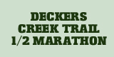 13th Deckers Creek Trail Half Marathon