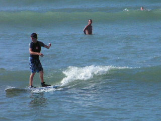 Kam Beach Surfing Lessons