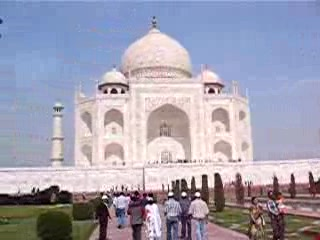 Agra, Indien: 009 - Taj Mahal Video