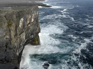 Inishmor's coast movie