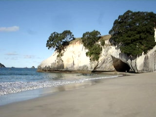 Whitianga, Nowa Zelandia: Movie - 01 - Cathedral Cove