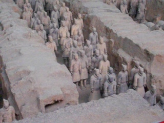 Xi'an, Chine : Terracotta Warriors I