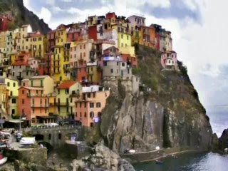 Manarola in Cingue-Terre
