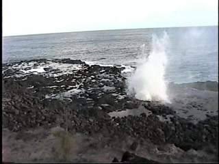 Koloa, : Spouting Horn